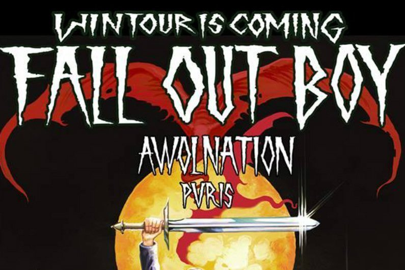 "image for article Fall Out Boy Announces 2016 ""Wintour Is Coming"" Tour Dates for North America: Ticket Presale Codes + Info"