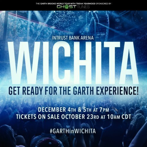 image for article Garth Brooks Adds Wichita, Kansas Concerts to 2015 Tour Dates: Ticket On-Sale Info