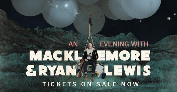 image for article Macklemore & Ryan Lewis Add 2016 European Tour Dates with Raury: Ticket Presale Code Info