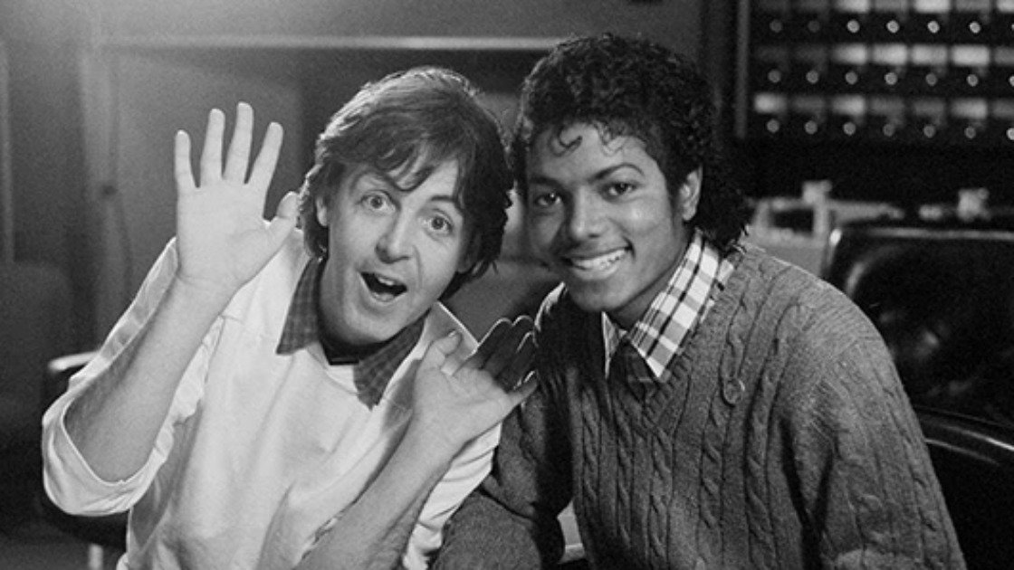 "image for article ""Say, Say, Say"" - Paul McCartney & Michael Jackson (2015 Remix) [YouTube Official Music Video + Interview]"