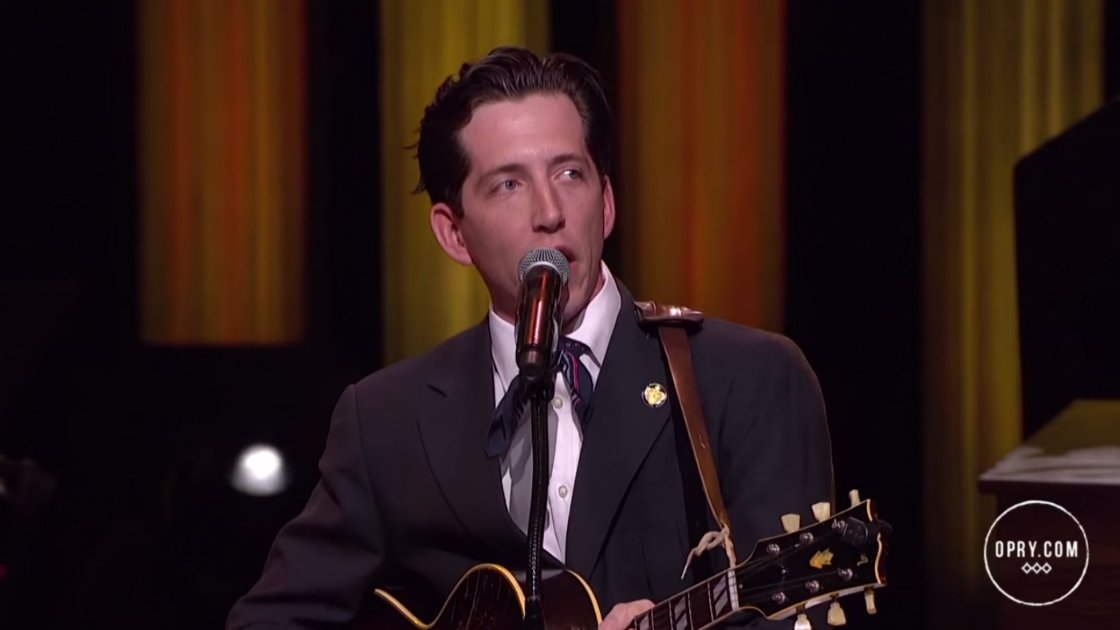 "image for article ""Actin' A Fool"" - Pokey LaFarge at the Grand Ole Opry in Nashville on Aug 25, 2015 [YouTube Official Video]"