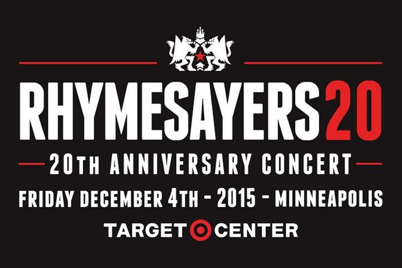 image for article Rhymesayers To Celebrate 20th Anniversary with Target Center Concert in Minneapolis on December 4, 2015: Lineup & Ticket Info