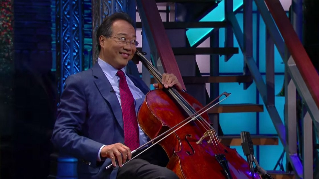 image for article Yo-Yo Ma Performs With Special Guests on The Late Show with Stephen Colbert on Oct 5th, 2015 [YouTube Official Videos]