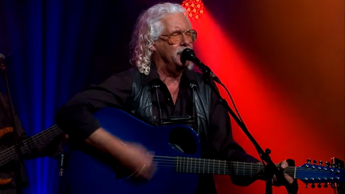 "image for article ""Coming Into Los Angeles"" - Arlo Guthrie (From The Alice's Restaurant 50th Anniversary Special on PBS) [YouTube Official Video]"