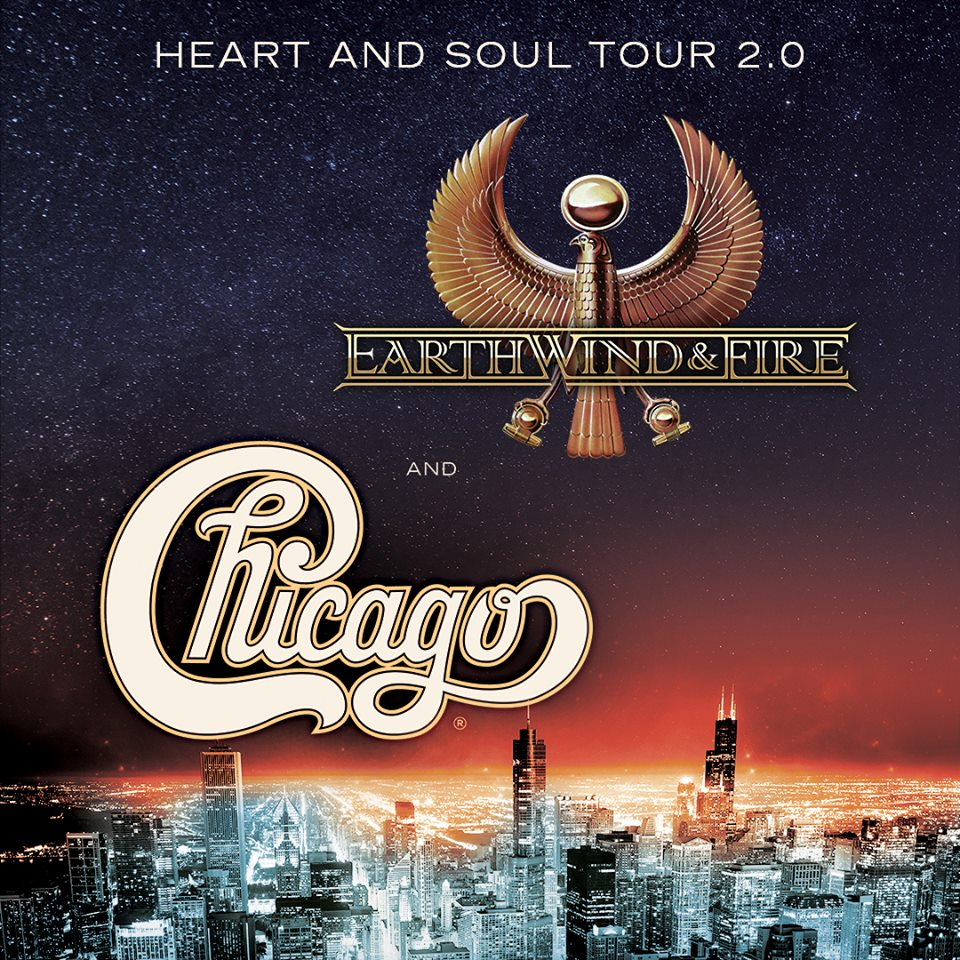 image for event Chicago and Earth, Wind & Fire