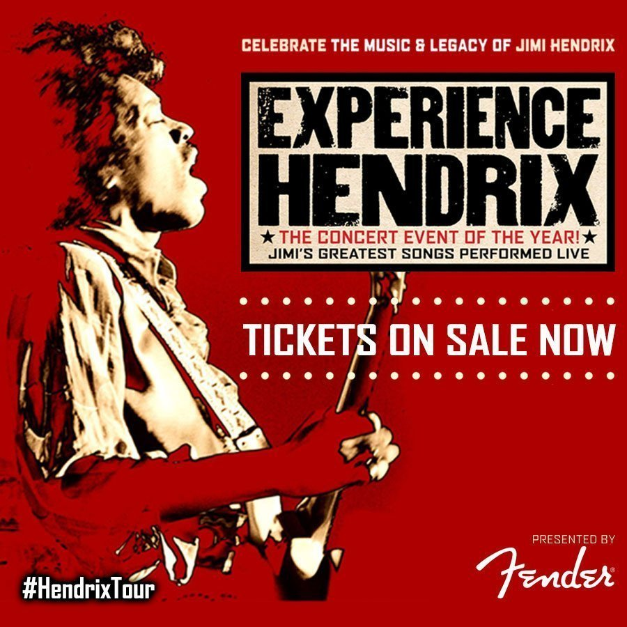 "image for article ""Experience Hendrix Tour"" Featuring Buddy Guy, Billy Cox, Zakk Wylde, and More Sets 2016 Tour Dates: Tickets Now On Sale"