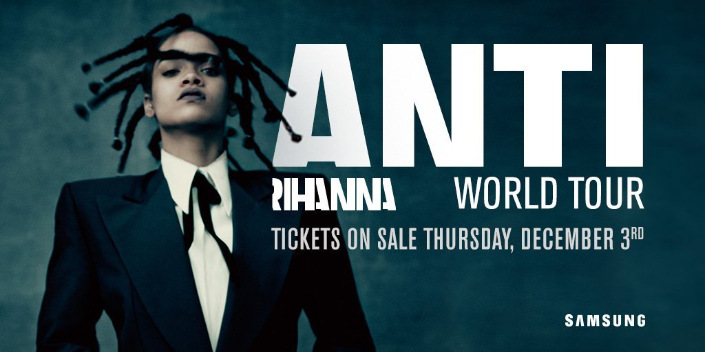 image for article Rihanna Sets 2016 Tour Dates with Travi$ Scott, The Weeknd, and Big Sean: Ticket Presale Code Info