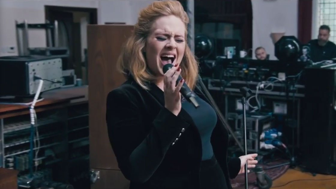 "image for article ""When We Were Young"" - Adele (Live at The Church Studios) [YouTube Official Music Video]"