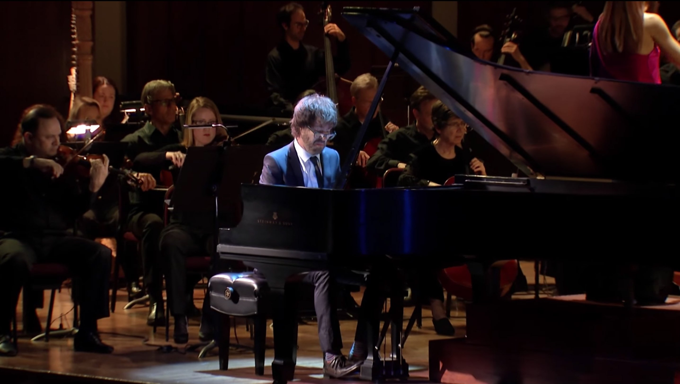 "image for article ""Concerto for Piano and Orchestra"" - Ben Folds with the National Symphony Orchestra on Dec 4, 2015 [YouTube Official Performance Video]"