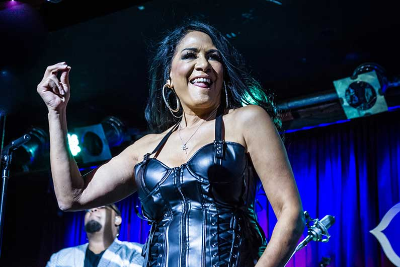 image for article Sheila E. Delivered Energy and Glamour at B.B. King Blues Club