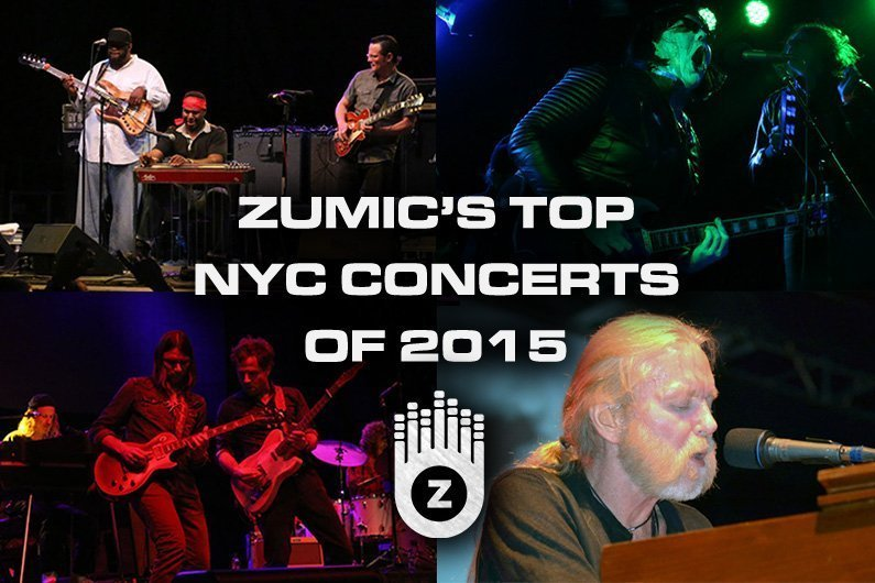 image for article Our Favorite New York City Concerts Of 2015 [Zumic Staff Picks]
