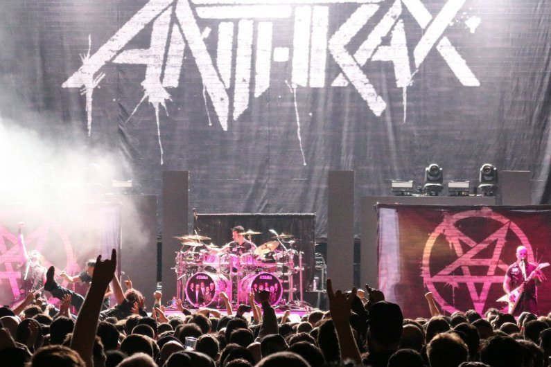 image for event Anthrax and Testament