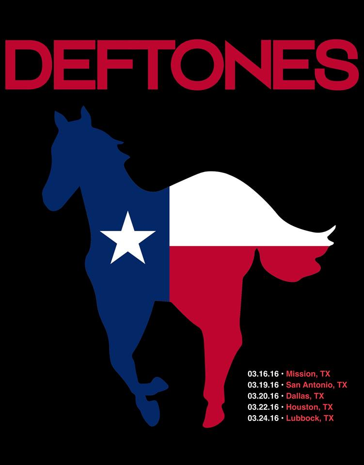 image for article Deftones Announce 2016 Tour Dates for Texas