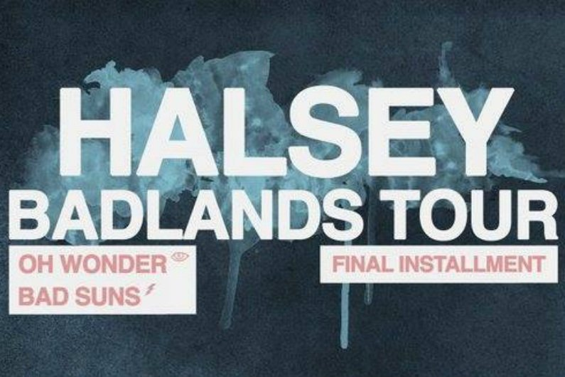 "image for article Halsey Plots Final Leg of ""Badlands"" 2016 Tour Dates"