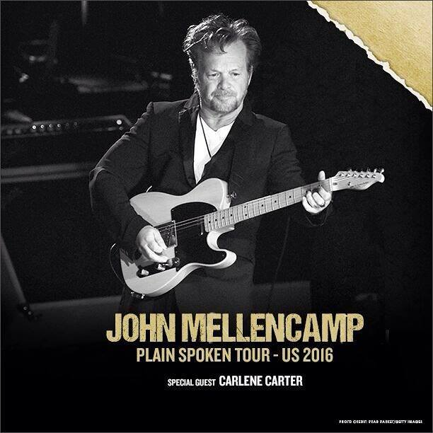 "image for article John Mellencamp Extends ""Plain Spoken"" Tour Dates For 2016"