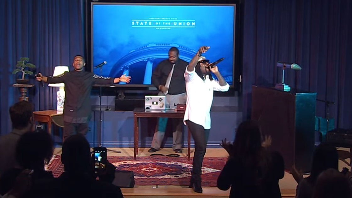 image for article Wale Performs Before President Obama's State of the Union Address, Jan 12, 2016 [YouTube Video]