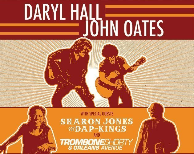 image for article Hall and Oates Announce 2016 Tour Dates with Trombone Shorty and Sharon Jones & The Dap-Kings