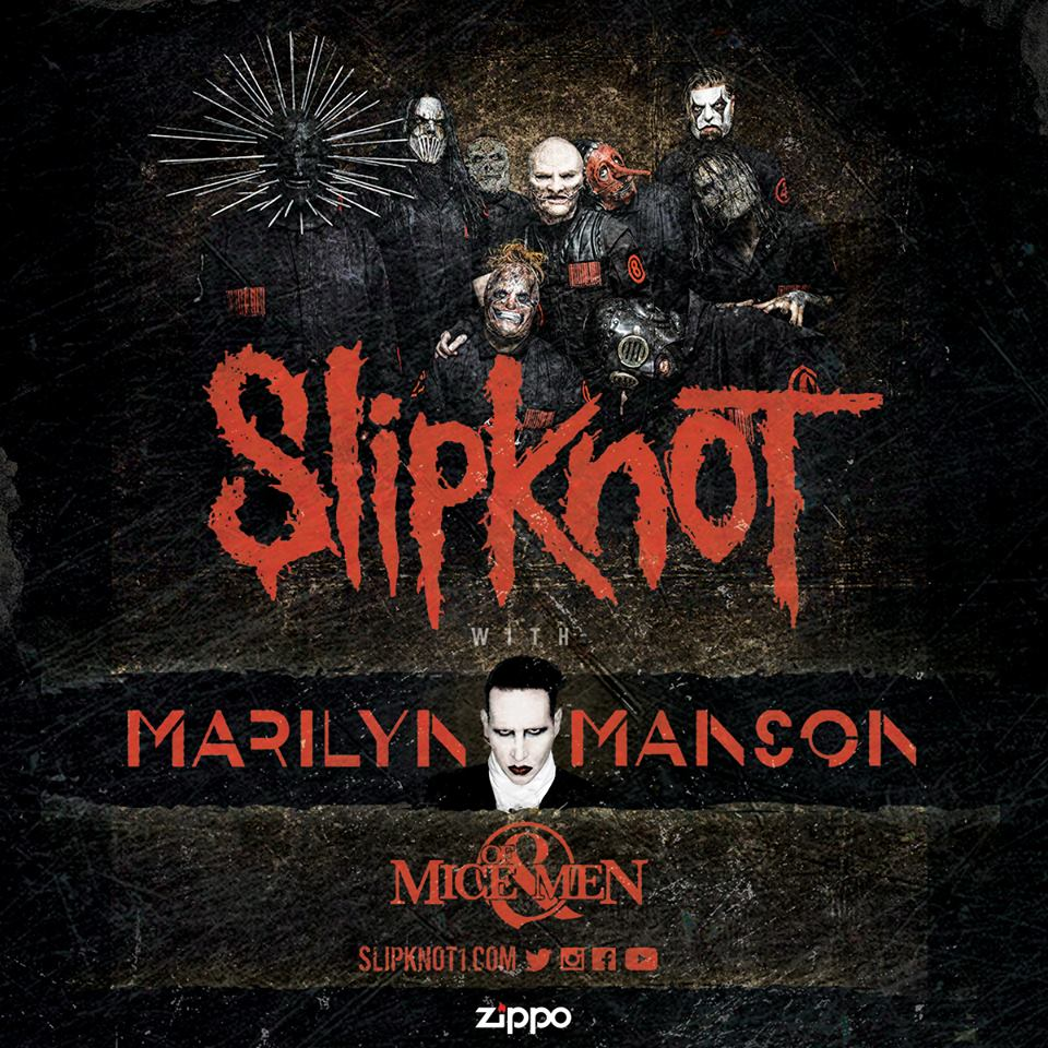 image for article Slipknot Sets 2016 Tour Dates With Marilyn Manson: Ticket Presale Code Info