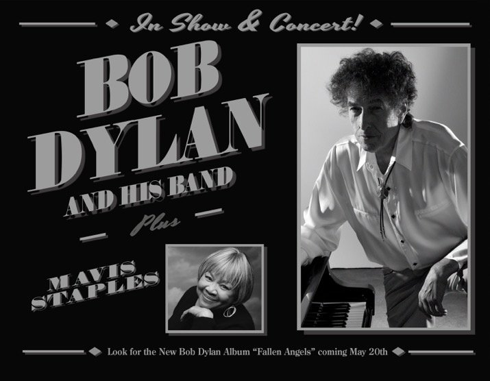 image for article Bob Dylan Unveils 2016 Tour Dates with Mavis Staples and 'Fallen Angels' Album: Ticket Presale Code Info