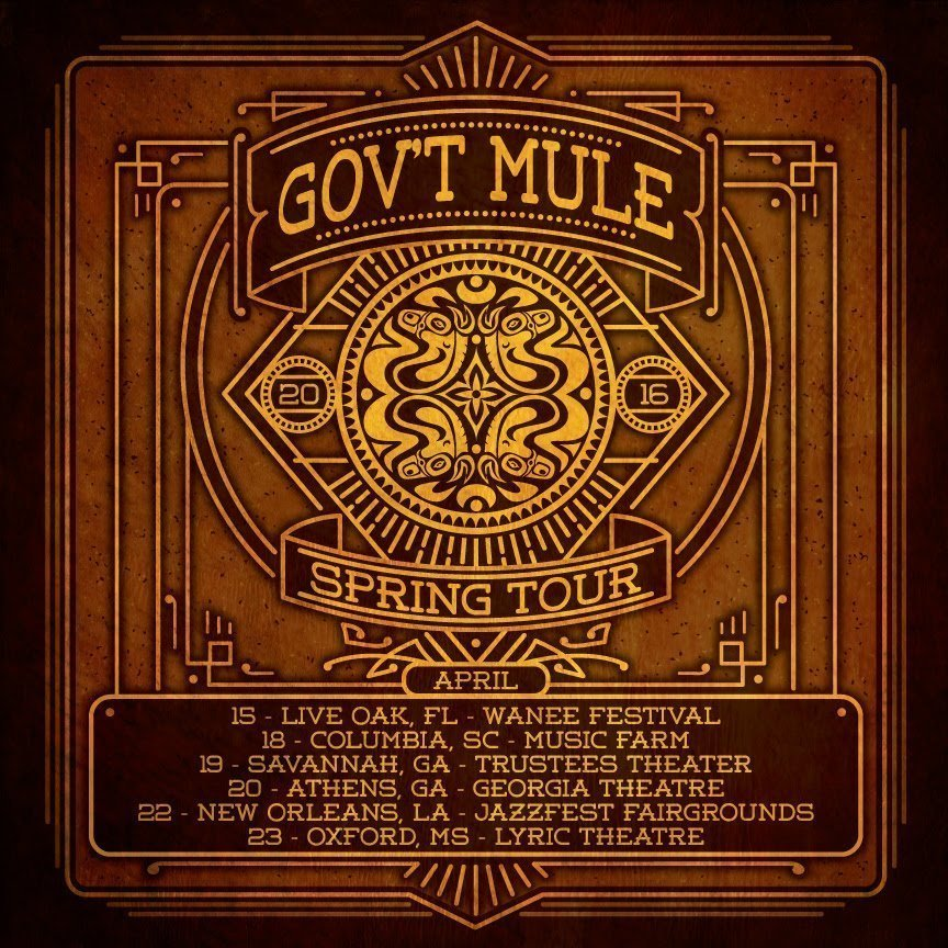 image for article Tickets Now On Sale for Gov't Mule 2016 Tour Dates, and Warren Haynes Has Tour Plans with Phil & Friends, Ashes & Dust Band