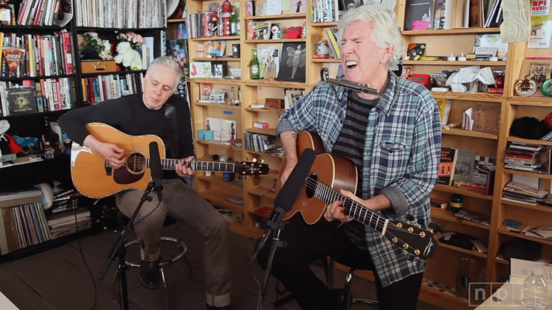 image for article Graham Nash Sounded as Great As Ever on NPR's Tiny Desk Concert, 2016 [YouTube Video]