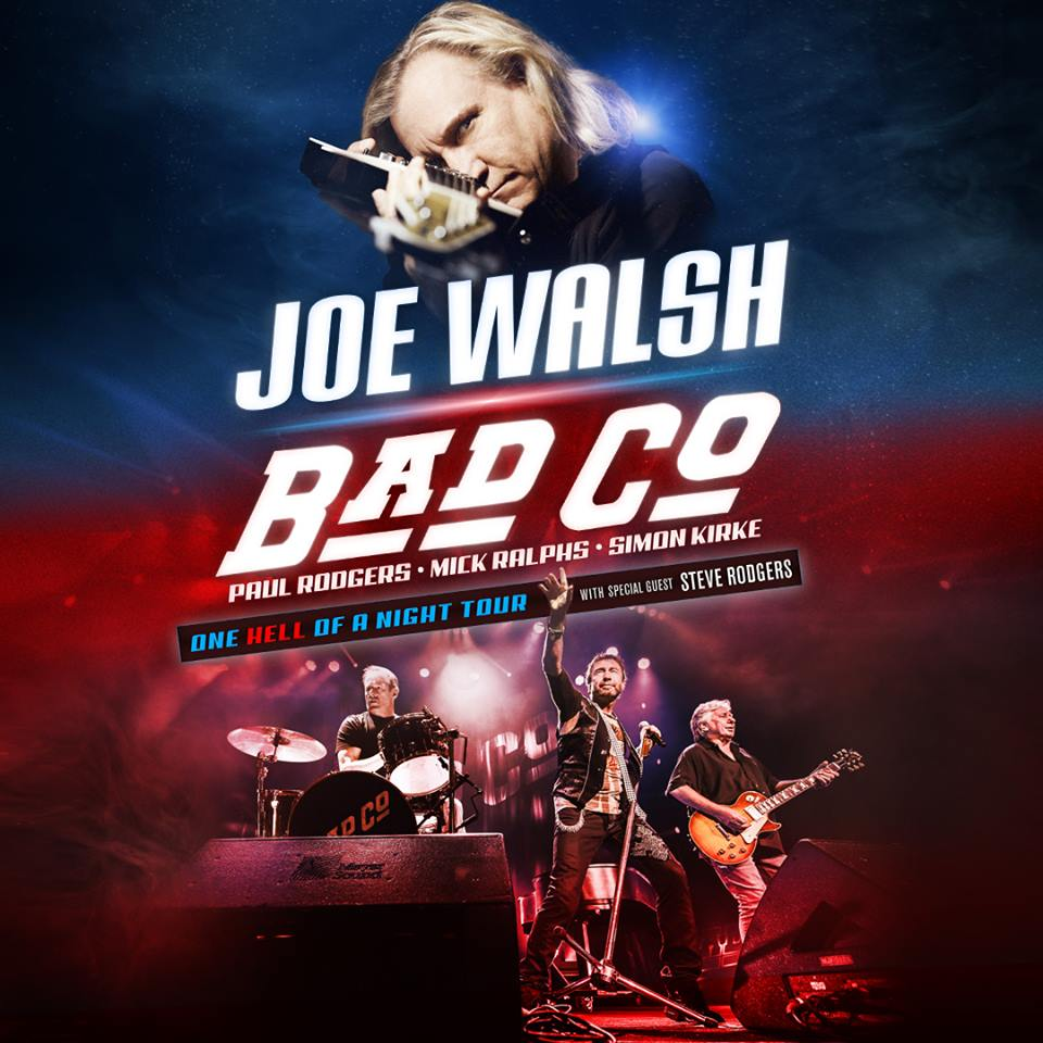 "image for article Joe Walsh & Bad Company Set ""One Hell Of A Night"" 2016 Tour Dates as Double Bill: Ticket Presale Code Info"