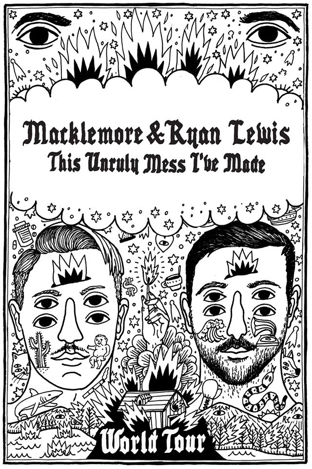 image for article Macklemore & Ryan Lewis 'The Unruly Mess I've Made' World Tour:  Ticket Presale Codes + Info
