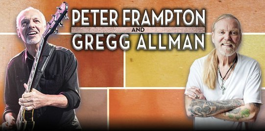 image for article Peter Frampton & Gregg Allman Set 2016 Tour Dates: Ticket Presale Codes + Info