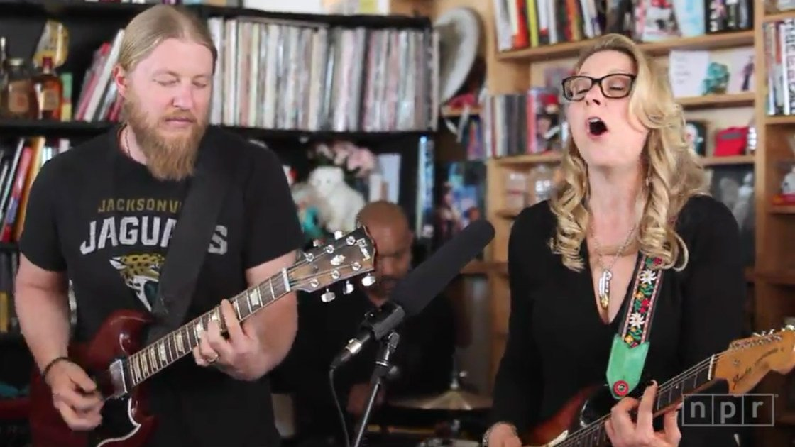image for article Tedeschi Trucks Band Brought Their Heavy Soul to the NPR Music Tiny Desk Concert [YouTube Video]