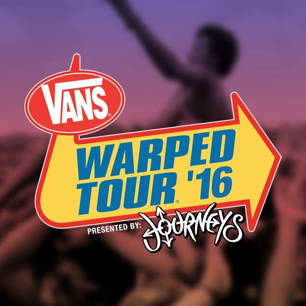 image for article Vans Warped Tour 2016 Lineup Announced for All Tour Dates + Tickets Now On Sale
