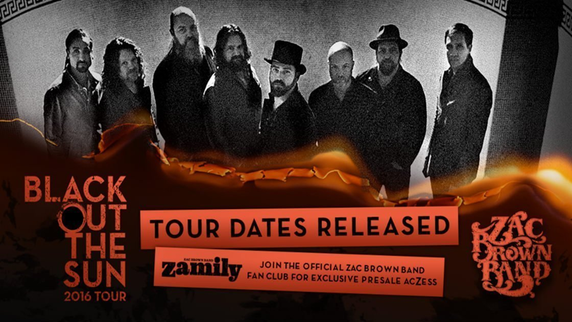 image for article Zac Brown Band Sets 2016 Tour Dates: Ticket Presale Code Info