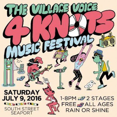 image for article 4Knots Music Festival Announced for New York City at South Street Seaport on Jul 9, 2016