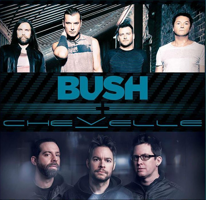 image for article Bush Sets 2016 Tour Dates With Chevelle: Ticket Presale Codes + Info