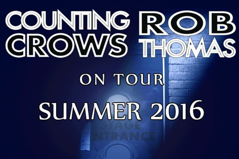 image for article Counting Crows and Rob Thomas Set 2016 Tour Dates: Ticket Presale Codes + Info