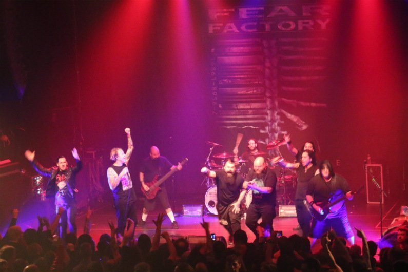 image for article Fear Factory and Soilwork Unleashed Industrial Carnage at Gramercy Theatre in NYC on April 11, 2016 [Zumic Review + Photos]