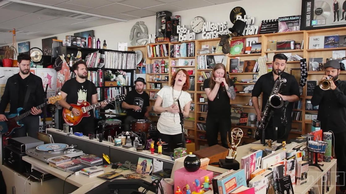 image for article Watch Sister Sparrow & The Dirty Birds Delightful 2016 NPR Tiny Desk Concert [YouTube Video]