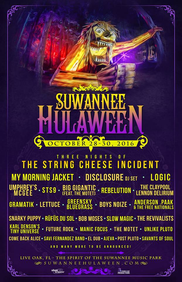 image for event Suwannee Hulaween Music Festival