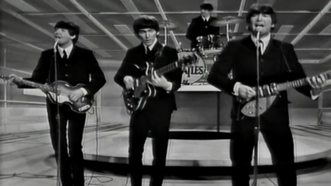 """I Want To Hold Your Hand"" - The Beatles Live on The Ed Sullivan Show, February 9, 1964 [YouTube Official Video]"