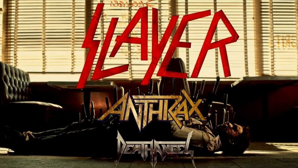 image for event Slayer, Anthrax, and Death Angel