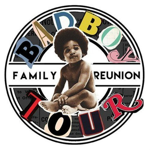 image for event Bad Boy Family Reunion: Puff Daddy, Lil Kim, Faith Evans, Mase, 112, Total, Carl Thomas, The Lox, and French Montana