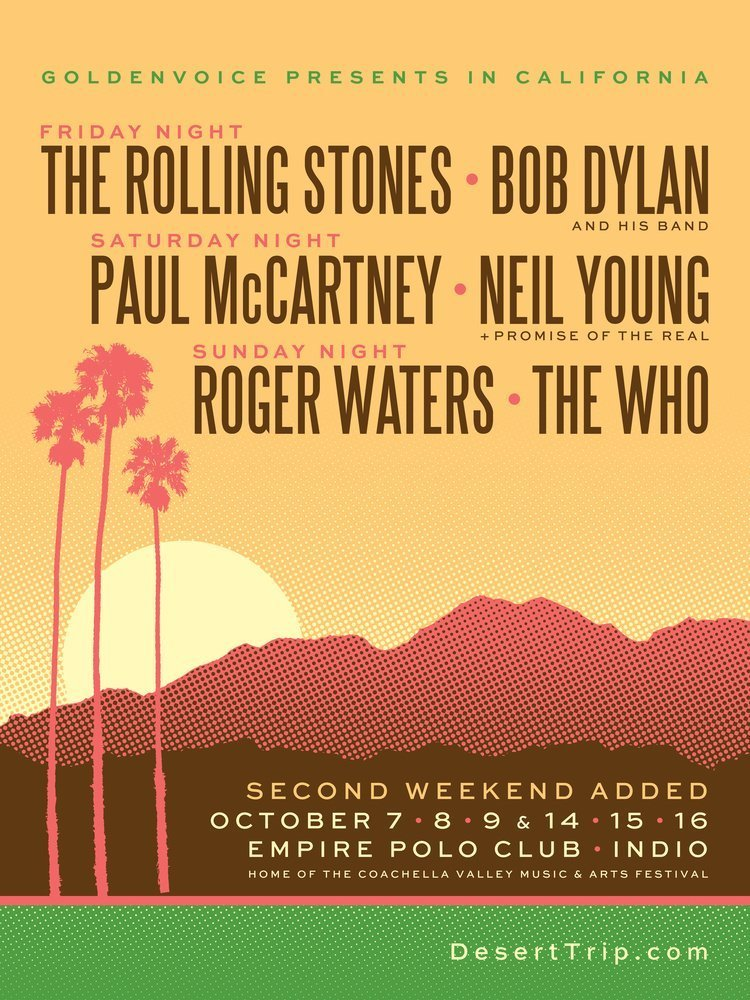 image for event The Rolling Stones and Bob Dylan