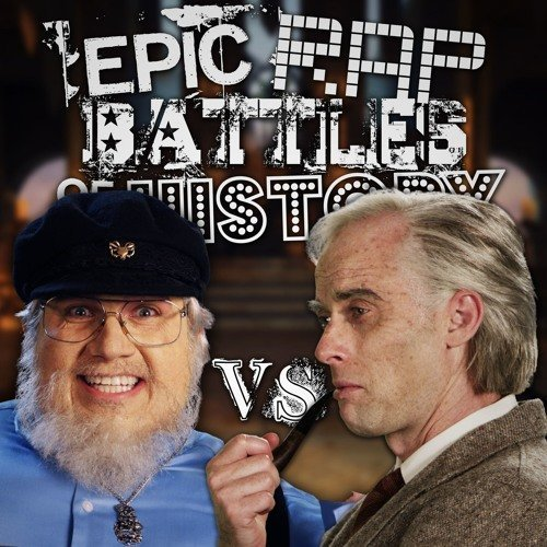 "image for article ""J. R. R. Tolkien vs George R. R. Martin"" - Epic Rap Battles of History [YouTube Official Music Video]"