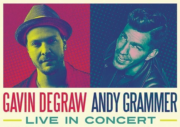 image for article Gavin DeGraw and Andy Grammer Announce Co-Headlining 2016 Tour Dates: Ticket Presale Code Info