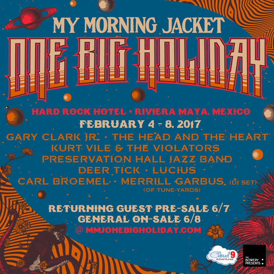 image for event My Morning Jacket's One Big Holiday Music Festival