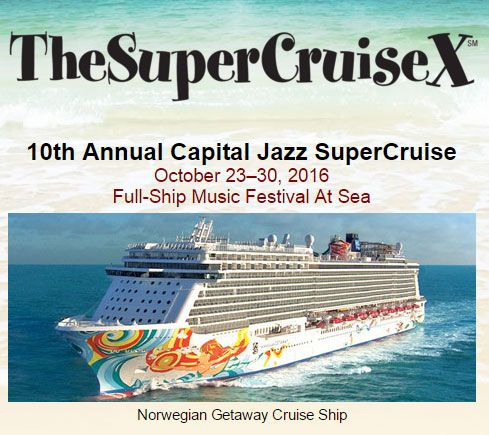 image for event The 10th Annual Capital Jazz SuperCruise
