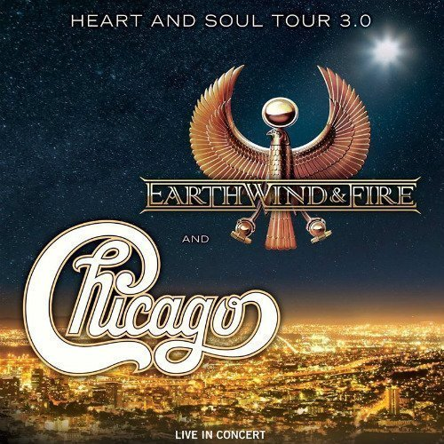 "image for article Chicago and Earth, Wind & Fire Add ""Heart And Soul 3.0"" 2016 Tour Dates: Ticket Presale Code Info"