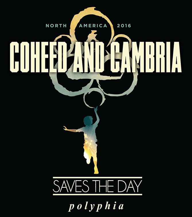 image for event Coheed and Cambria, Saves The Day, and Polyphia