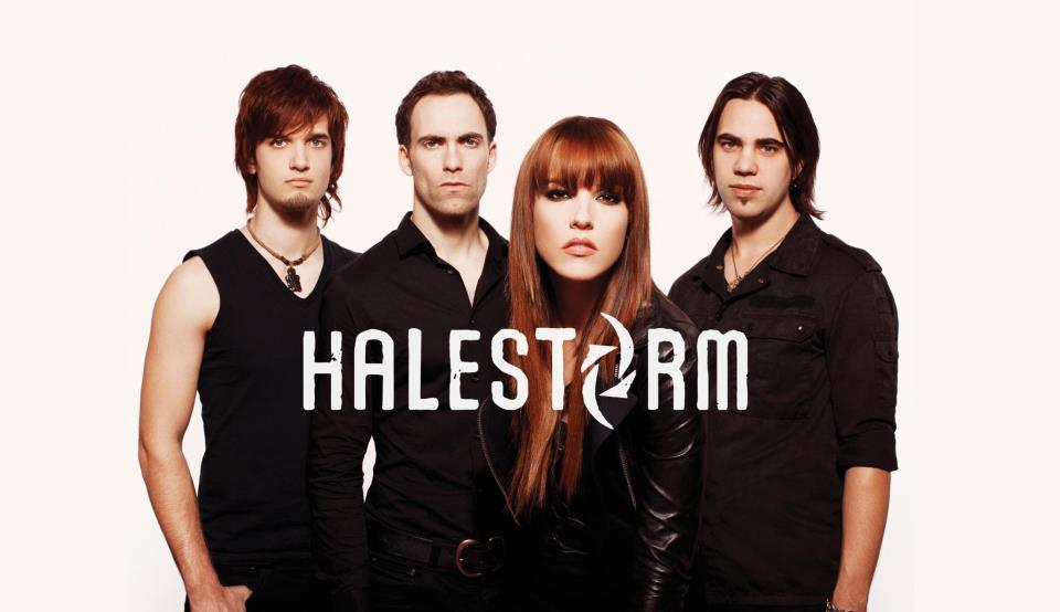 image for event Halestorm, Lita Ford, and Dorothy