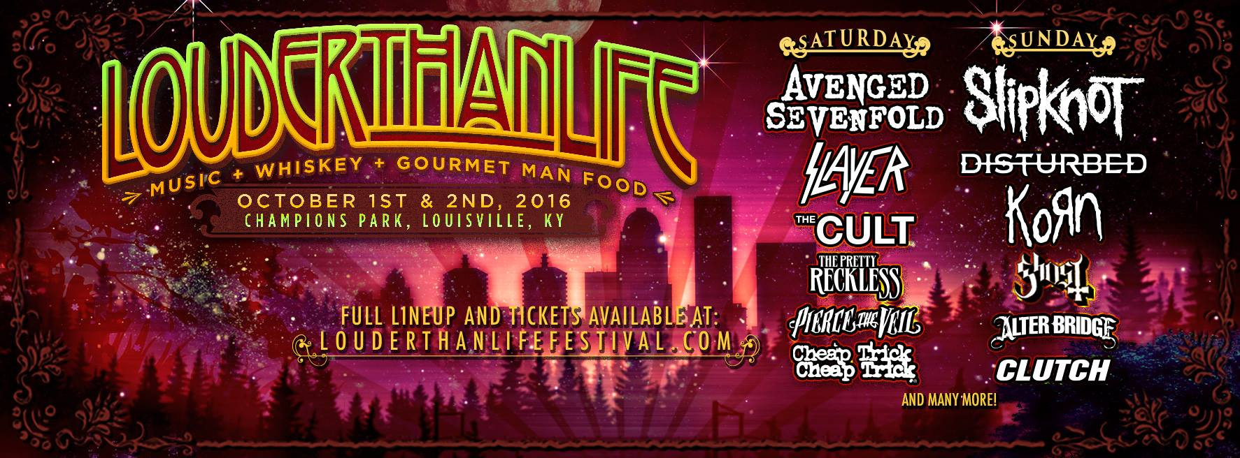 image for event Louder Than Life Music Festival