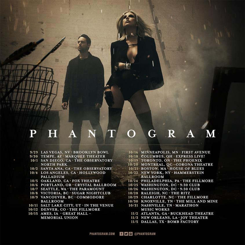 image for article Phantogram Set 2016 Tour Dates: Ticket Presale Code Info